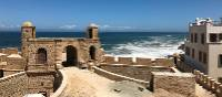 Ocean views over the fort in Essaouira | Robyn Lyons