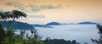 The Rwenzori Mountains, also known as Mountains of the Moon