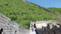 Blue skies as we trek the Great Wall |  <i>Alana Johnstone</i>