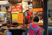 Market stalls on the streets of Hong Kong |  <i>Charles Duncombe</i>