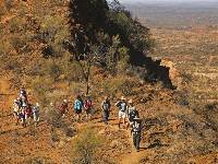 Traversing the ridgelines on the Larapinta Trail |  <i>Peter Walton</i>