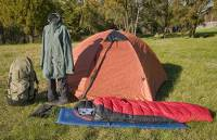Includes backpack, waterproof jacket, overpants, gaiters, tent, sleeping bag, mat and innersheet |  <i>Aran Price</i>