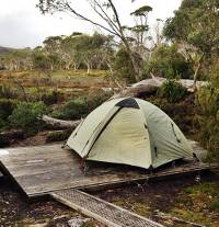 Camping on the Overland Track |  <i>Larissa Duncombe</i>