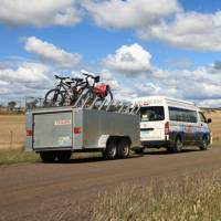 Back up vehicle for cycling tours |  <i>Mick Wright</i>