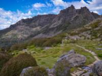 Trekking along the spectacular landscape of the Overland track |  <i>Mark Whitelock</i>