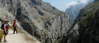 Long winding road through the Cares Gorge, Picos de Europa | Sylvia van der Peet
