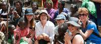 Fundraisers meeting locals on the Hamlin Ethiopian Adventure | Amber Hooper