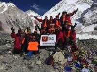 The Can Too Team at Everest Base Camp |  <i>Heather Hawkins</i>