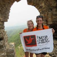 Fundraising for a cause on the Huma Great Wall Open Challenge |  <i>Claire Smart</i>