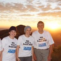 Team MDFA on the top of Mount Sonder on the Larapinta Trail |  <i>SB</i>