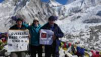 Charity challenge trekkers on the Everest Base Camp Trek |  <i>Michael Dillon</i>