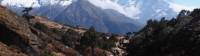 Trekking above Namche Bazaar in the Everest region |  <i>Jake Hutchins</i>