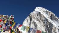 Mountain views in the Everest region |  <i>Ayla Rowe</i>