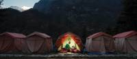 Stay at our comfortable semi-permanent campsites in Nepal's Everest region | Mark Tipple