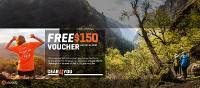 Free $150 Voucher Gear4You Huma landing page